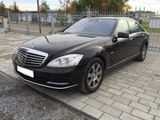 Встреча из роддома на Mercedes-Benz S-Class W221 Long в городе Астана,