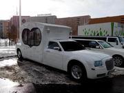 Прокат Chrysler 300C Карета белого цвета для любых мероприятий.