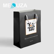 Пакет логотип,  бумажный пакет. Упаковка вашего бренда